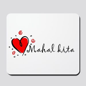 """I Love You"" [Tagalog] Mousepad"